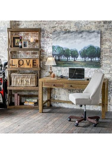 Warm Design Love Temalı Duvar Panosu Kahve